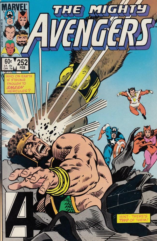 Couverture de Avengers (The) (1963) -252- Deciding factor