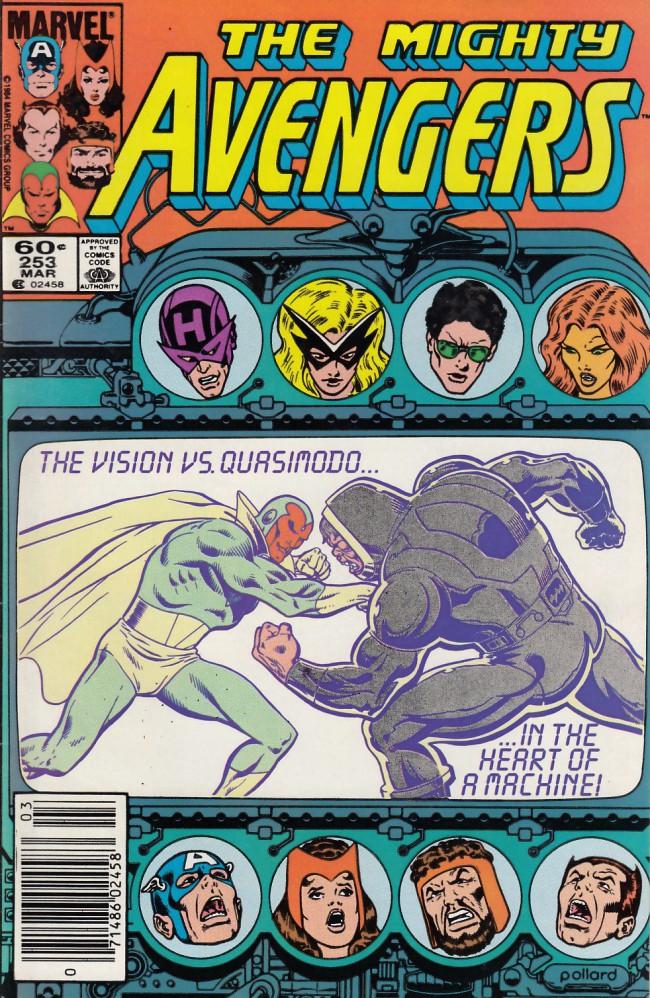 Couverture de Avengers Vol. 1 (Marvel Comics - 1963) -253- Conquering vision