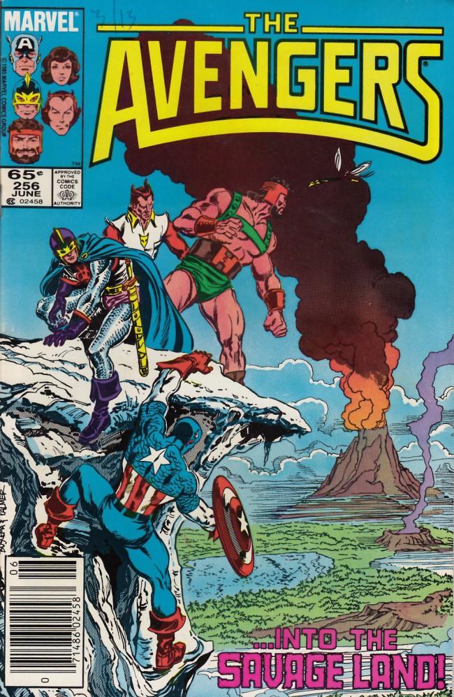 Couverture de Avengers (The) (1963) -256- The power unleashed