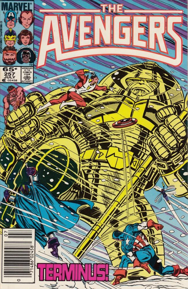 Couverture de Avengers Vol. 1 (Marvel Comics - 1963) -257- Holocaust in a hidden land