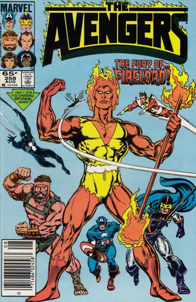 Couverture de Avengers Vol. 1 (Marvel Comics - 1963) -258- Phyrric victory