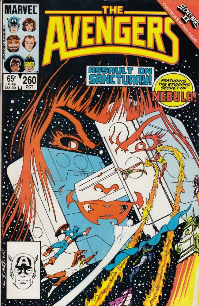 Couverture de Avengers Vol. 1 (Marvel Comics - 1963) -260- Assault on sanctuary II
