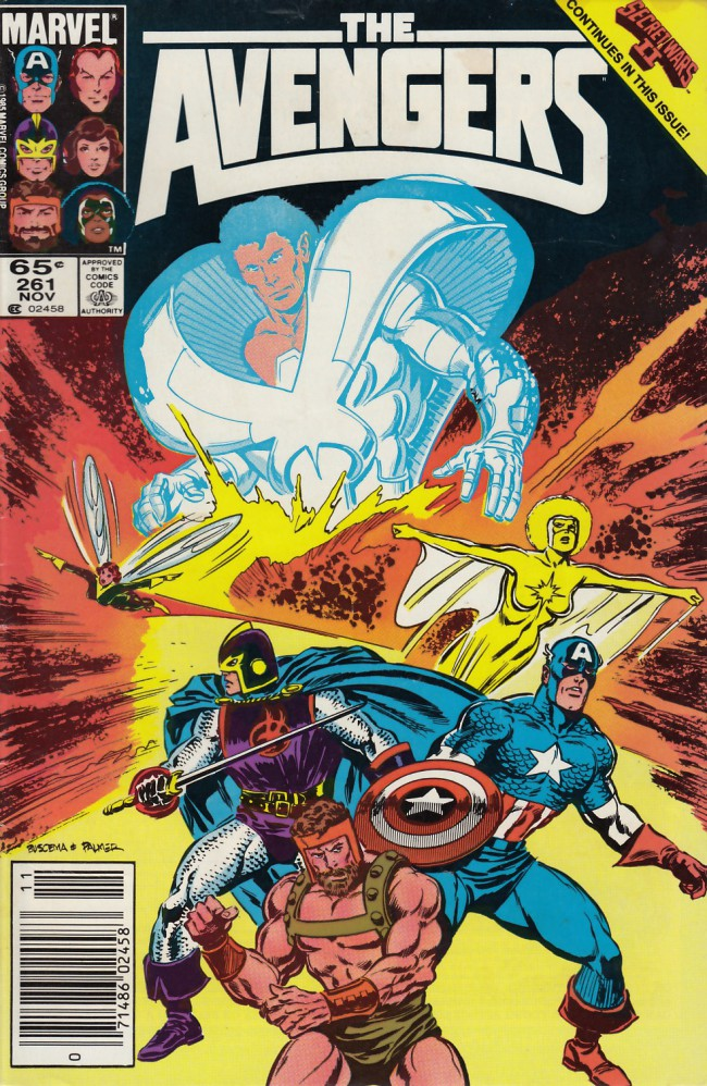 Couverture de Avengers Vol. 1 (Marvel Comics - 1963) -261- Earth and beyond