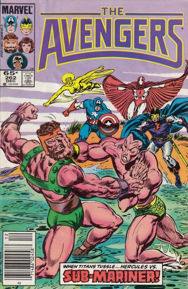 Couverture de Avengers Vol. 1 (Marvel Comics - 1963) -262- Many brave hearts
