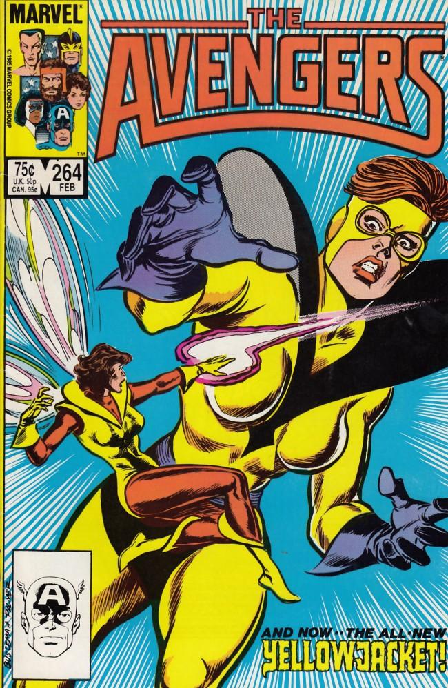 Couverture de Avengers Vol. 1 (Marvel Comics - 1963) -264- Stings & sorrows