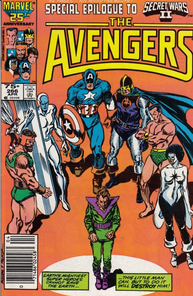 Couverture de Avengers Vol. 1 (Marvel Comics - 1963) -266- And the war's desolation