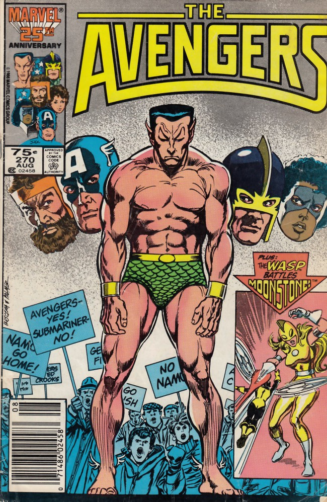 Couverture de Avengers Vol. 1 (Marvel Comics - 1963) -270- Wild in the streets
