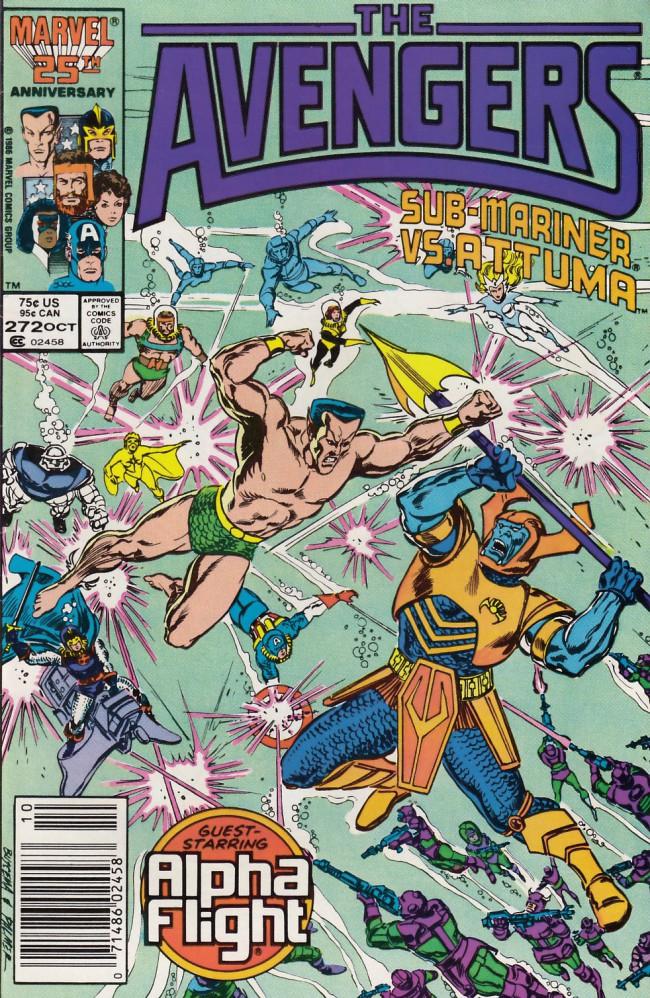 Couverture de Avengers (The) (1963) -272- Assault on Atlantis