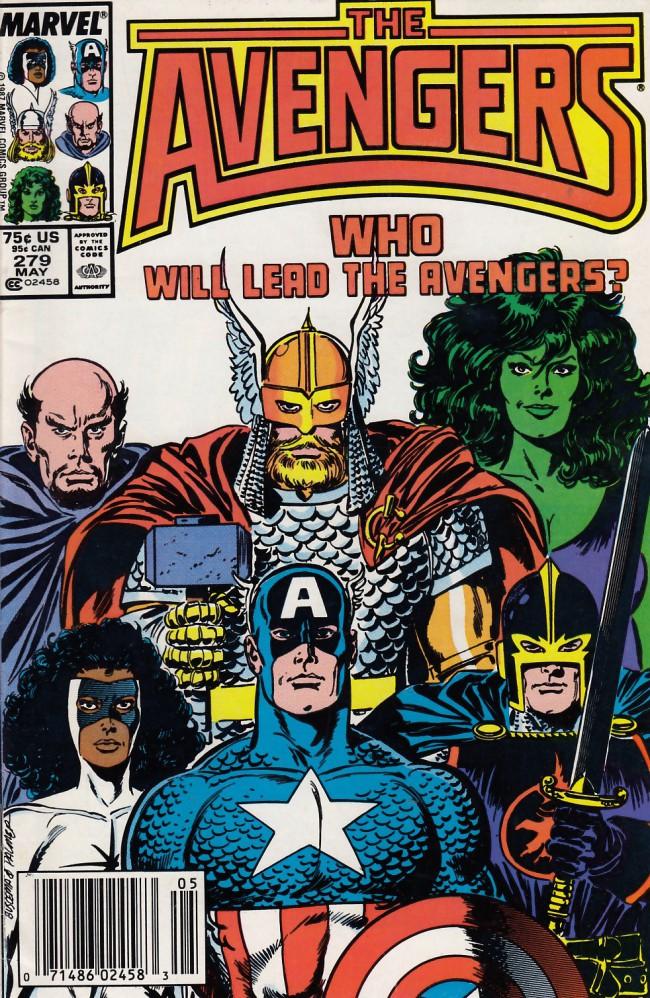 Couverture de Avengers Vol. 1 (Marvel Comics - 1963) -279- command decision