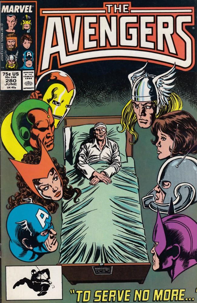 Couverture de Avengers Vol. 1 (Marvel Comics - 1963) -280- Faithful servant