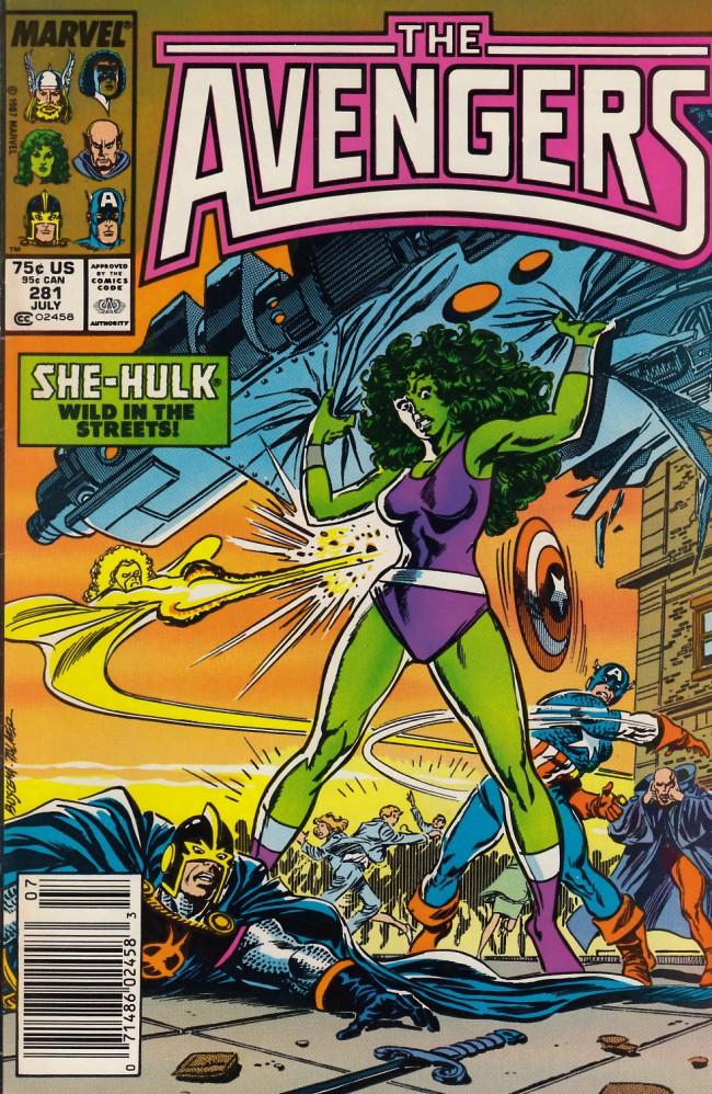 Couverture de Avengers Vol. 1 (Marvel Comics - 1963) -281- By gods betrayed