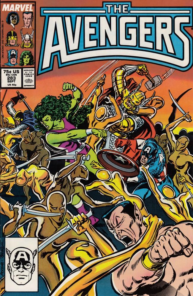 Couverture de Avengers (The) (1963) -283- Whom the gods would destroy