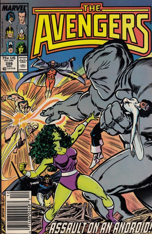 Couverture de Avengers Vol. 1 (Marvel Comics - 1963) -286- The fix is on