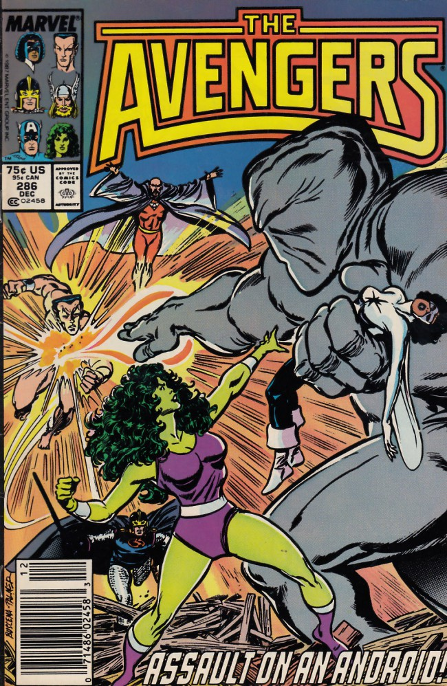 Couverture de Avengers (The) (1963) -286- The fix is on