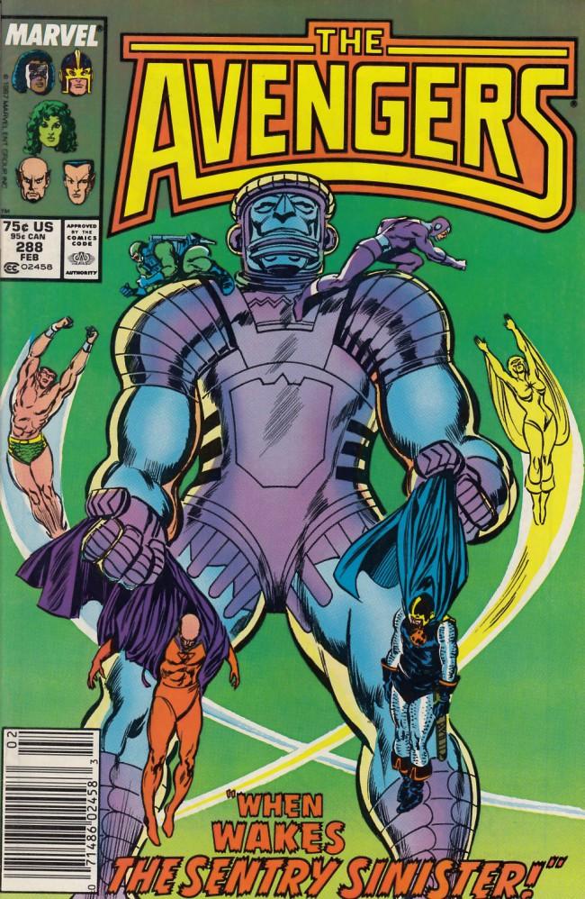 Couverture de Avengers Vol. 1 (Marvel Comics - 1963) -288- Heavy metal