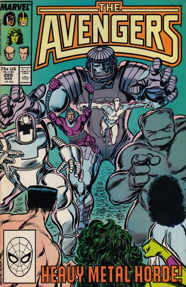Couverture de Avengers Vol. 1 (Marvel Comics - 1963) -289- The cube root