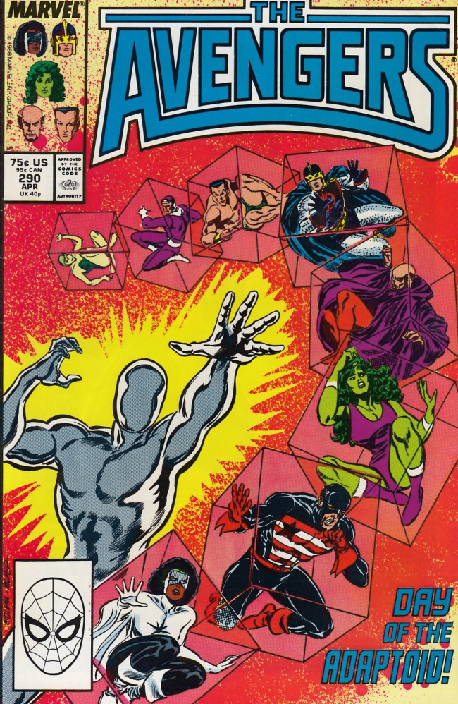 Couverture de Avengers Vol. 1 (Marvel Comics - 1963) -290- The world according to the adaptoid