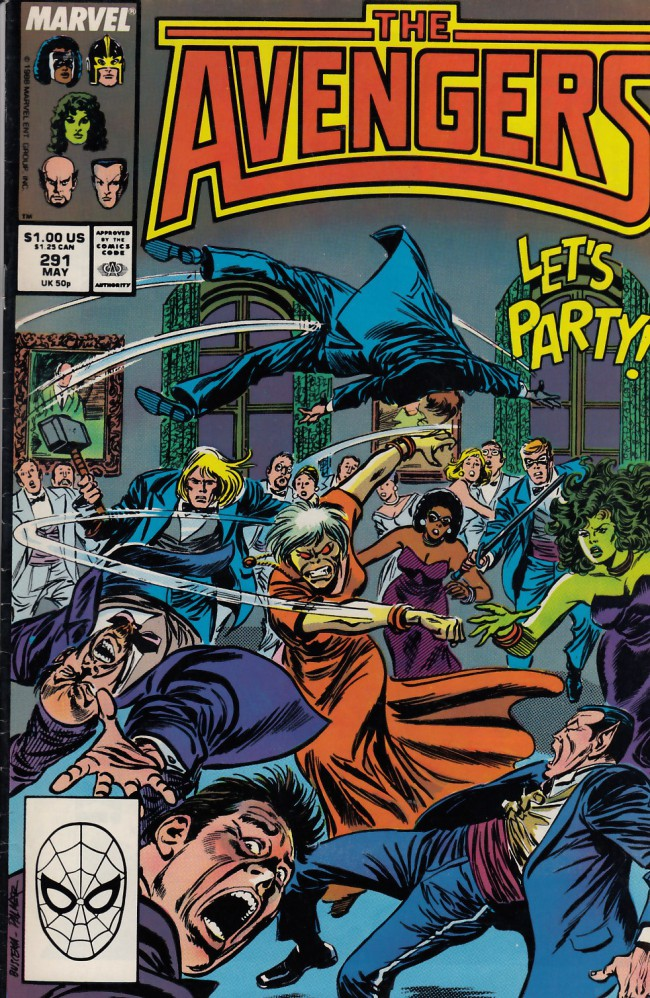 Couverture de Avengers (The) (1963) -291- Shadows of the future past