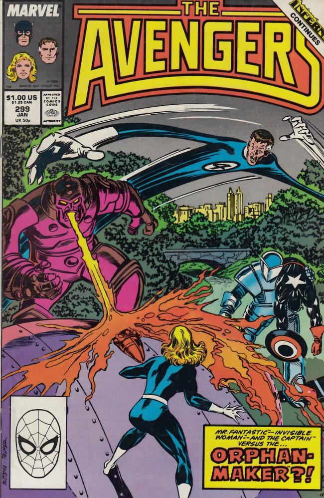 Couverture de Avengers Vol. 1 (Marvel Comics - 1963) -299- i love NY