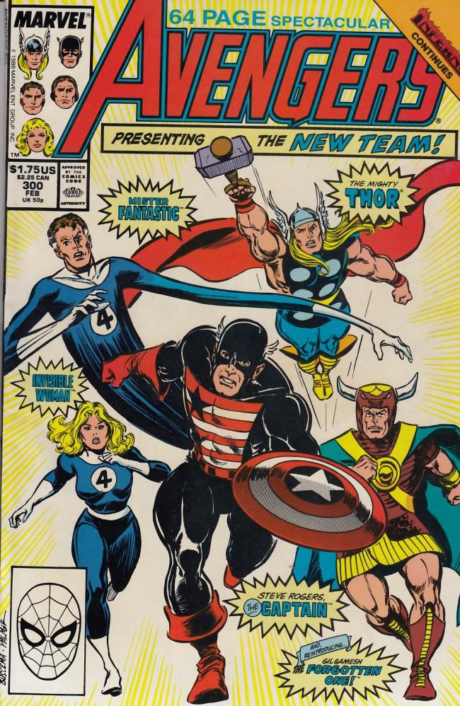 Couverture de Avengers Vol. 1 (Marvel Comics - 1963) -300- Inferno²