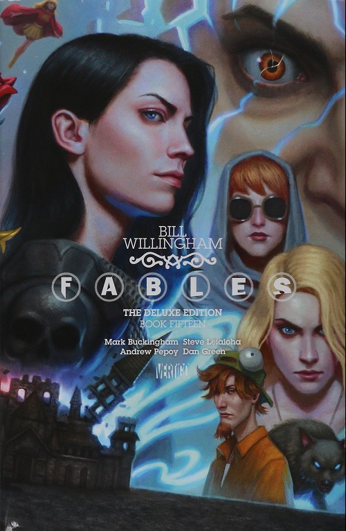 Couverture de Fables (2002) -INTHC15- The deluxe edition book fifteen