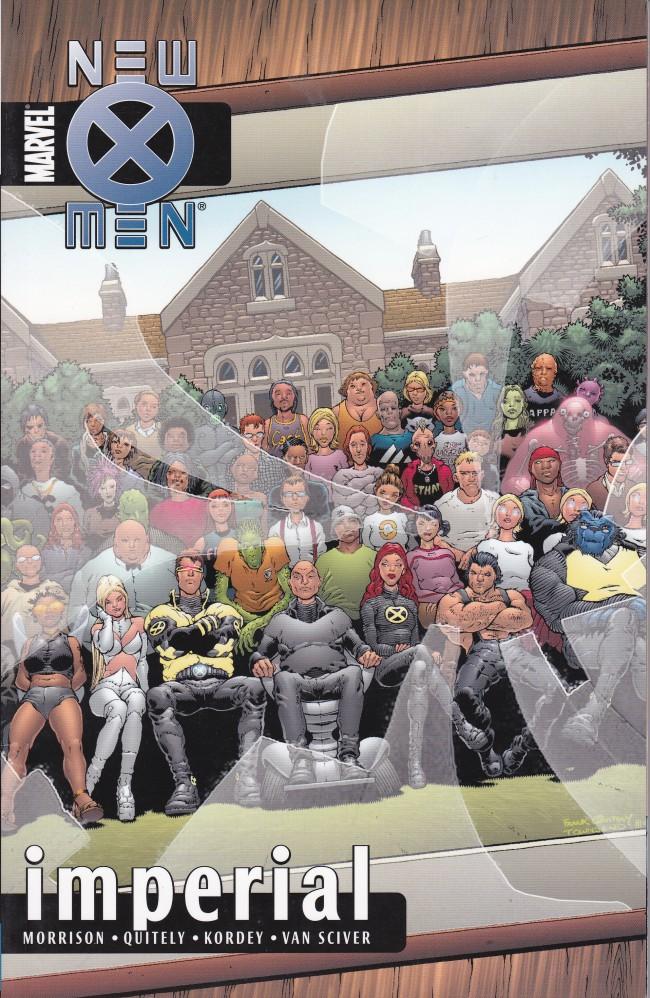 Couverture de New X-Men (2001) -INT02- Imperial