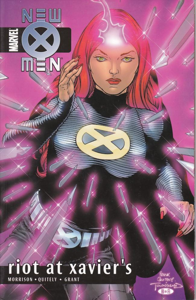 Couverture de New X-Men (2001) -INT04- Riot At Xavier's