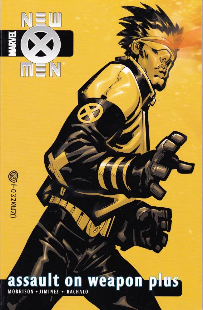Couverture de New X-Men (2001) -INT05- Assault On Weapon Plus