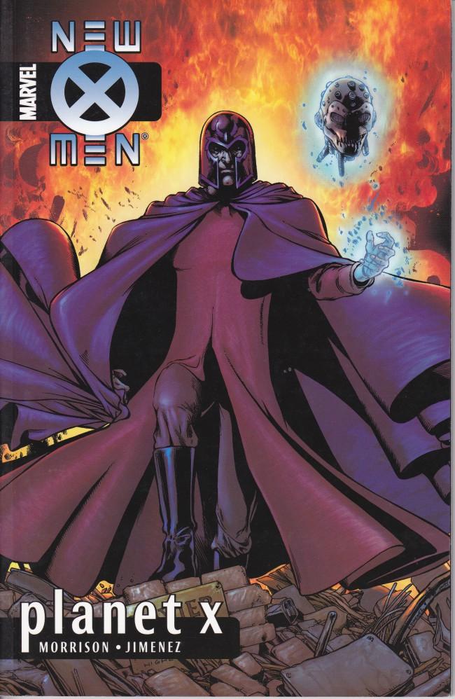 Couverture de New X-Men (2001) -INT06- Planet X
