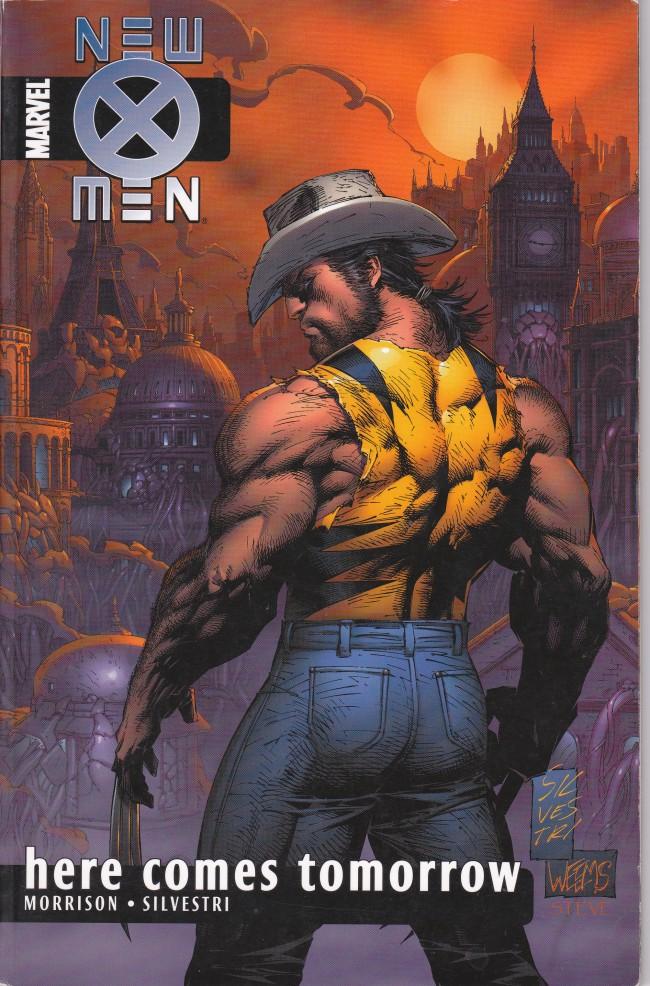 Couverture de New X-Men (2001) -INT07- Here Comes Tomorrow