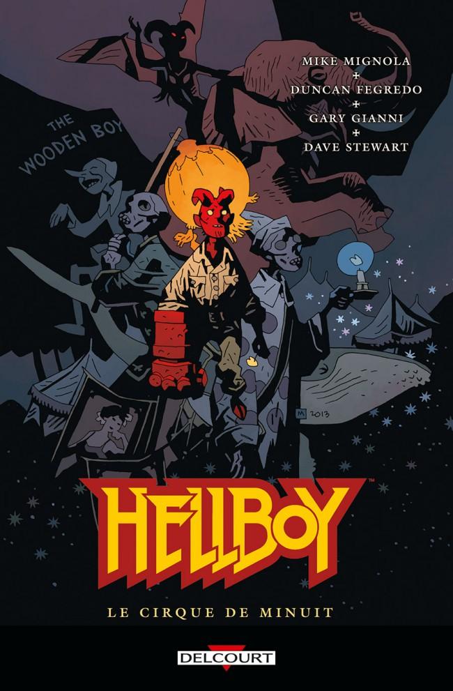 Couverture de Hellboy (Delcourt) -16- Le Cirque de minuit