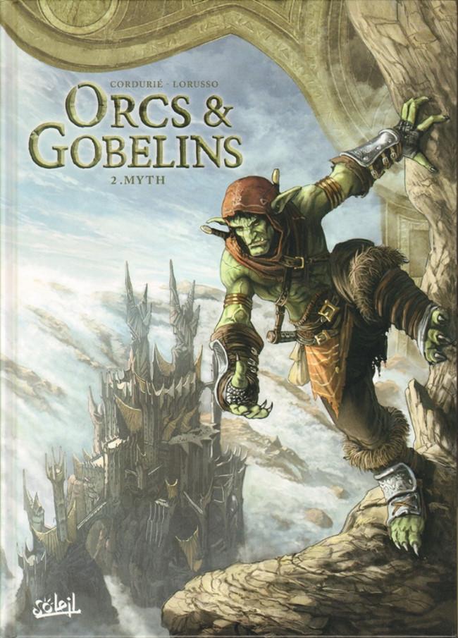 Couverture de Orcs & Gobelins -2- Myth