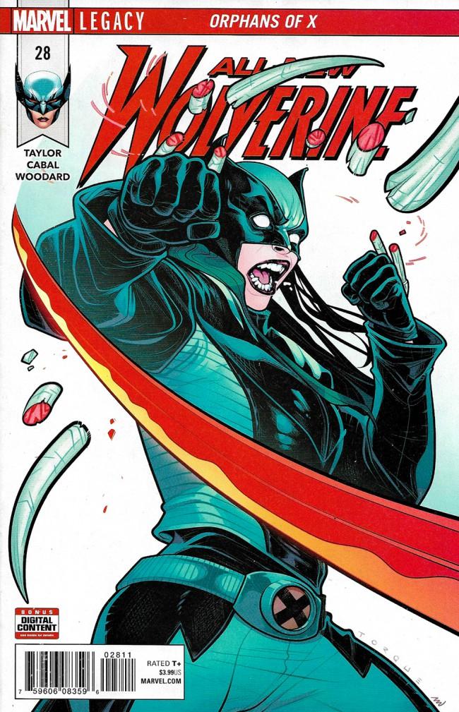 Couverture de All-New Wolverine (2016) -28- Orphans Of X Part 4