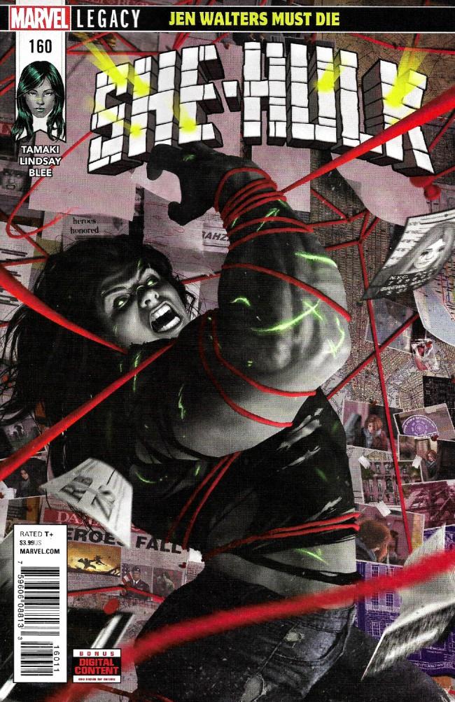 Couverture de She-Hulk (2017) -160- Jen Walters Must Die Part 2