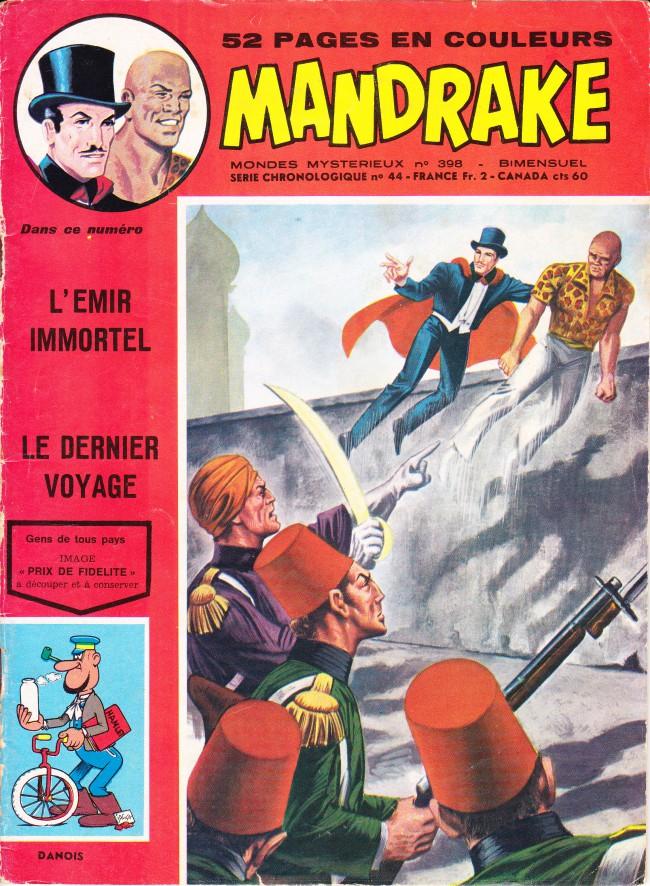 Couverture de Mandrake (1re Série - Remparts) (Mondes Mystérieux - 1) -398- L'émir immortel