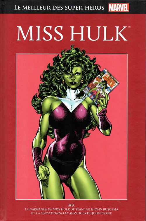 Couverture de Marvel Comics : Le meilleur des Super-Héros - La collection (Hachette) -51- Miss hulk