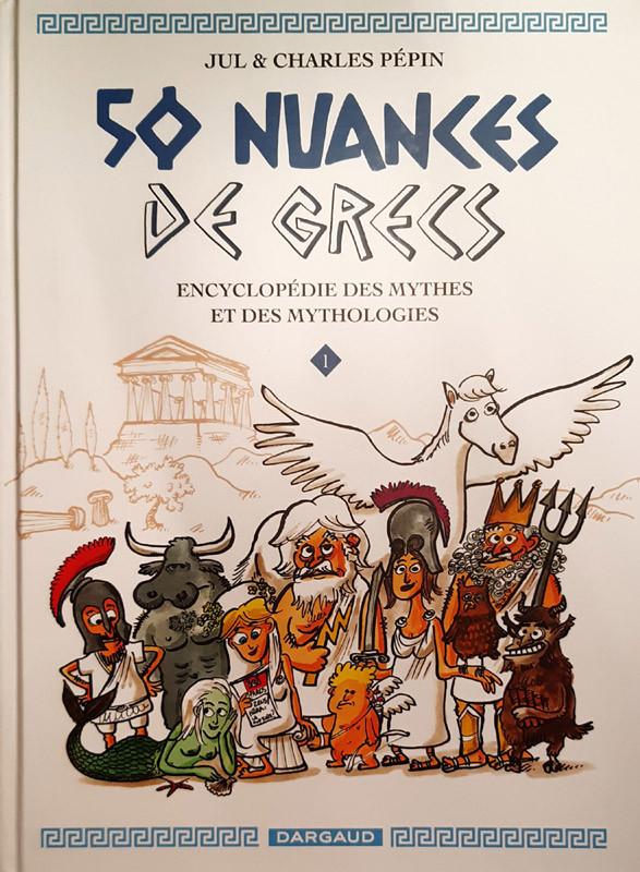 Couverture de 50 nuances de grecs - Tome 1