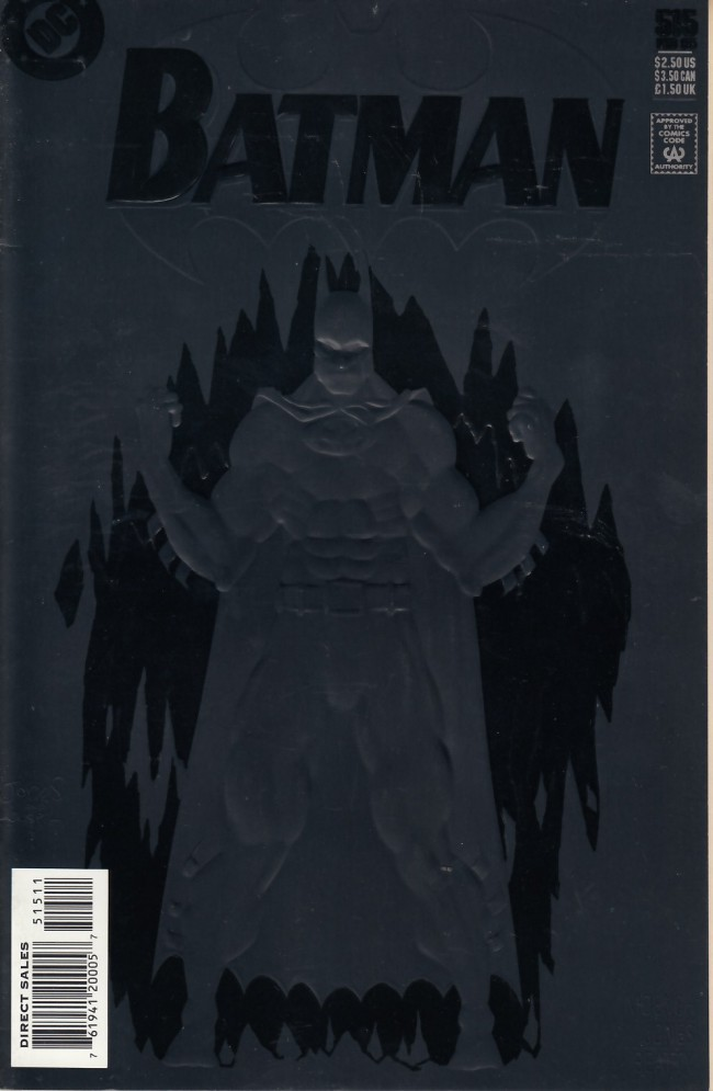 Couverture de Batman (1940) -515- Troika part 1: Dark rider, cold warrior