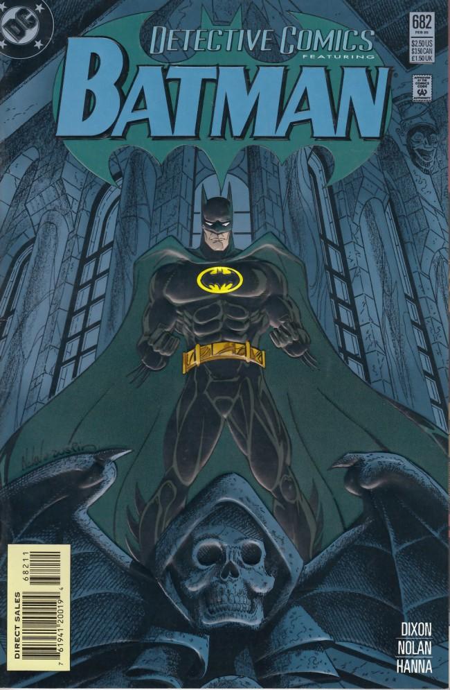 Couverture de Detective Comics (1937) -682- Doomsday clock