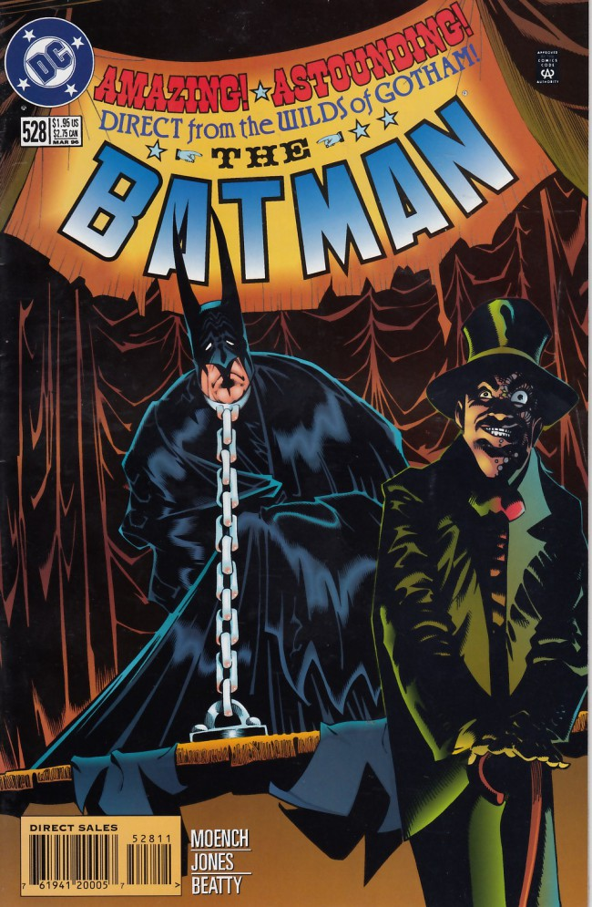 Couverture de Batman (1940) -528- Schismed faces
