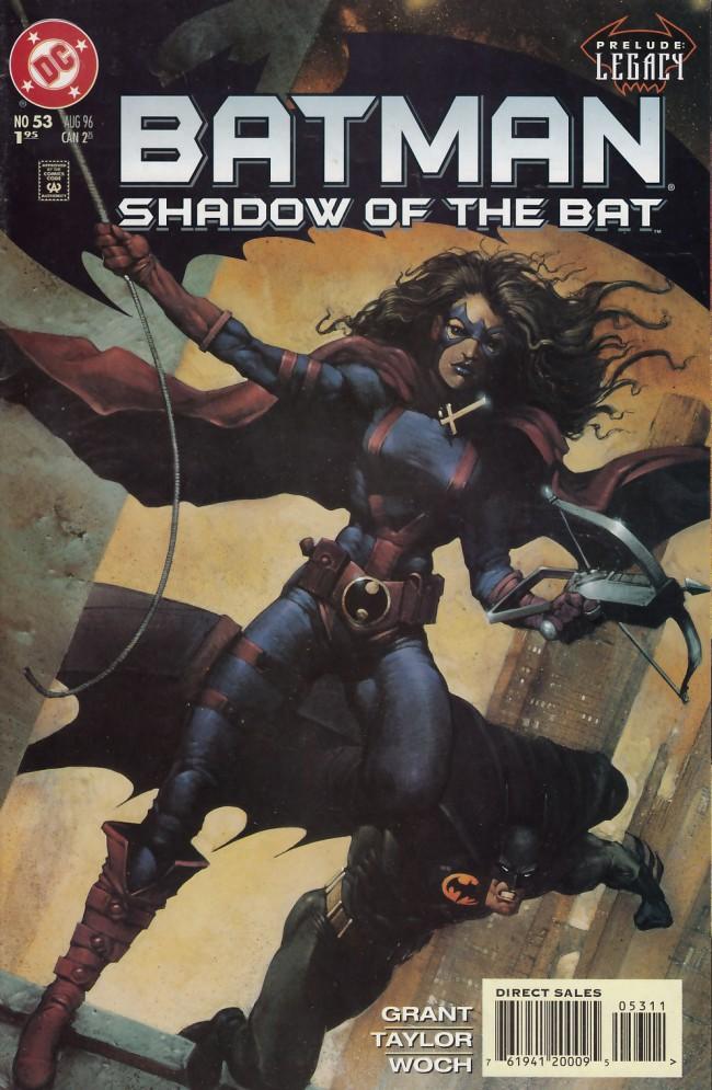 Couverture de Batman: Shadow of the Bat (1992) -53- Hobson's choice: Legacy prelude