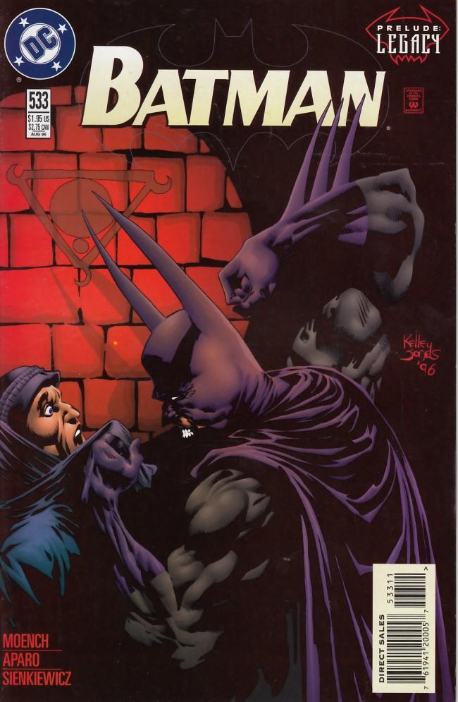 Couverture de Batman Vol.1 (DC Comics - 1940) -533- Twelve steps to the heart of hell