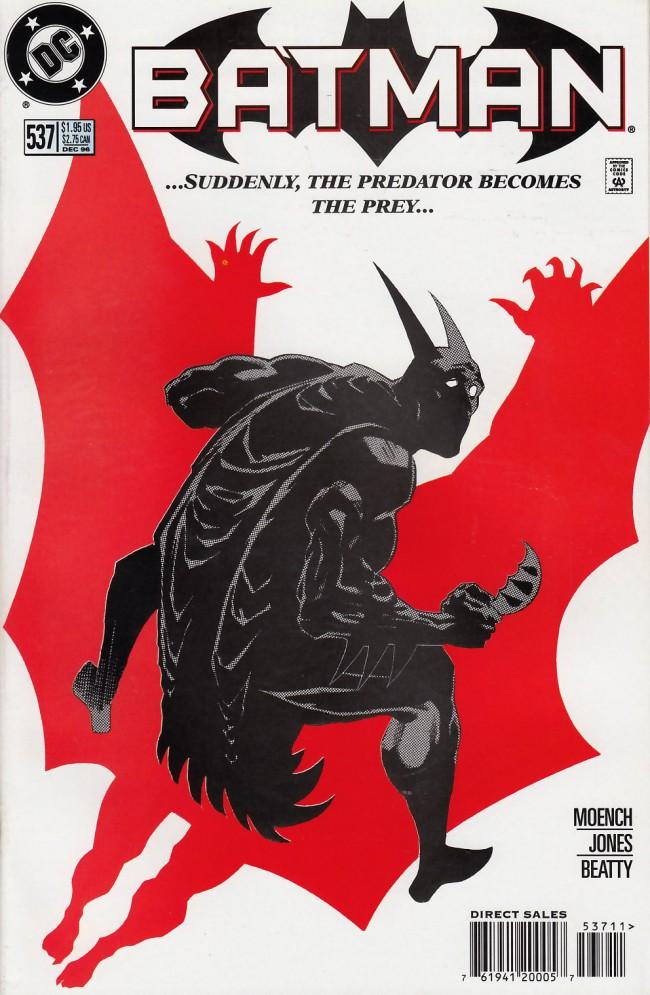 Couverture de Batman Vol.1 (DC Comics - 1940) -537- Darkest night of the man-bat part two: Pursuit