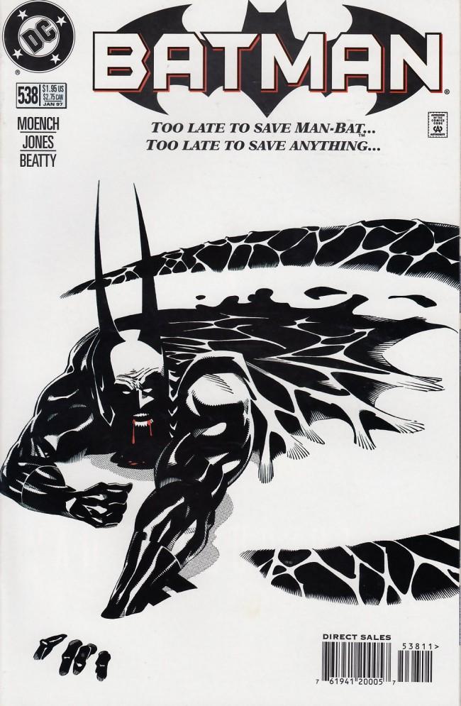 Couverture de Batman Vol.1 (DC Comics - 1940) -538- Darkest night of the man-bat part three: Predemption