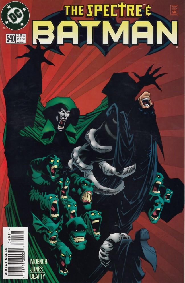 Couverture de Batman (1940) -540- The spectre of vengeance part one: Gotham welcome