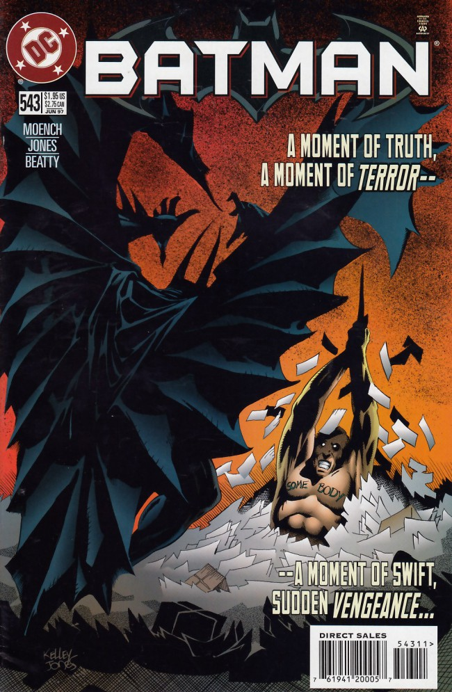 Couverture de Batman Vol.1 (DC Comics - 1940) -543- Faceless part two: Postmarked murder