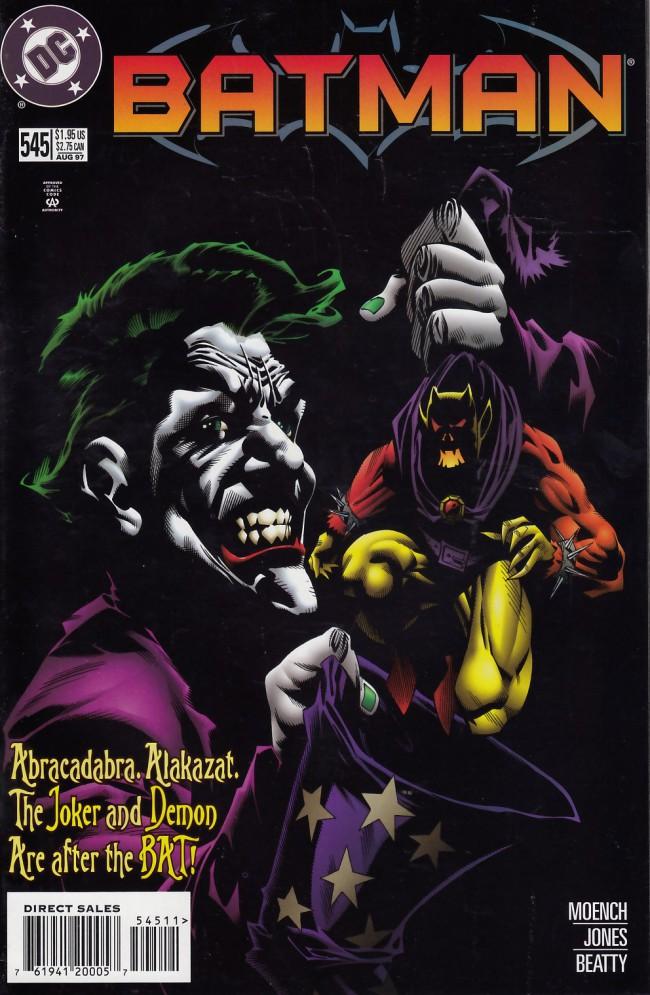 Couverture de Batman Vol.1 (DC Comics - 1940) -545- Major arcana part two: Night of the dyings jokers