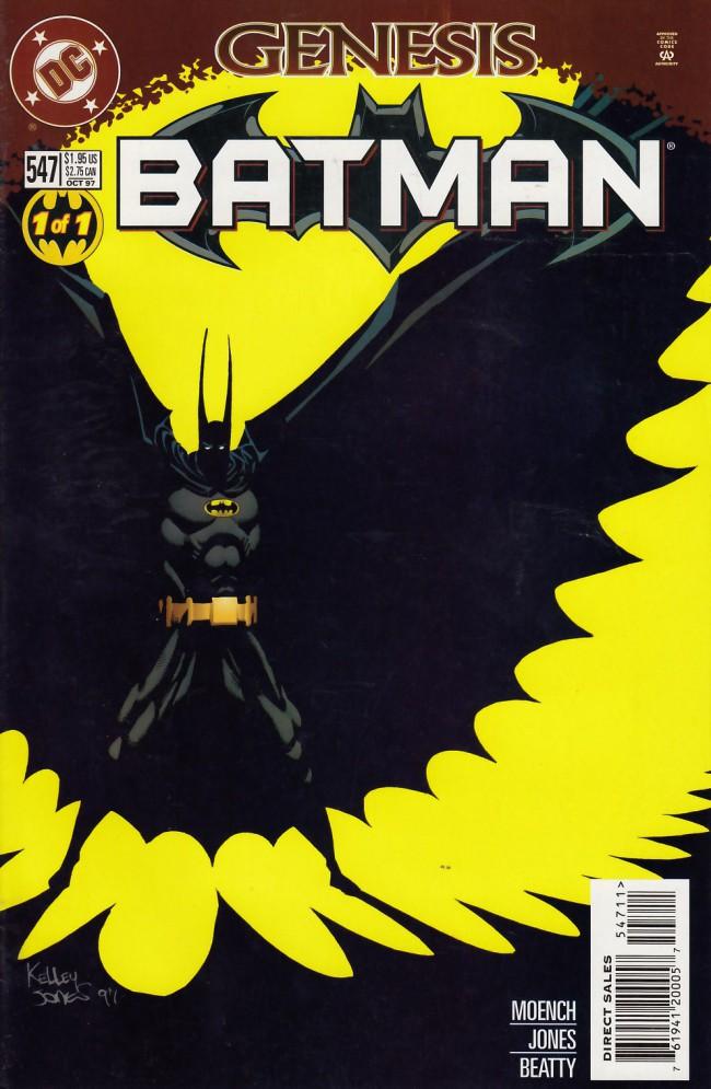 Couverture de Batman (1940) -547- Dark genesis
