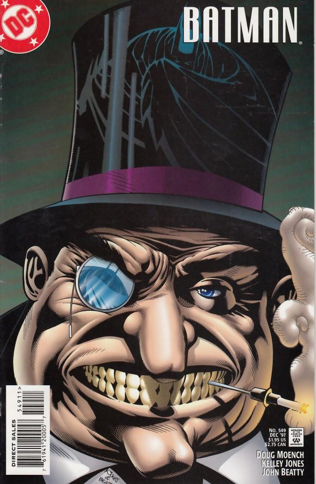 Couverture de Batman Vol.1 (DC Comics - 1940) -549- The penguin returns part two: The egyptian falcon