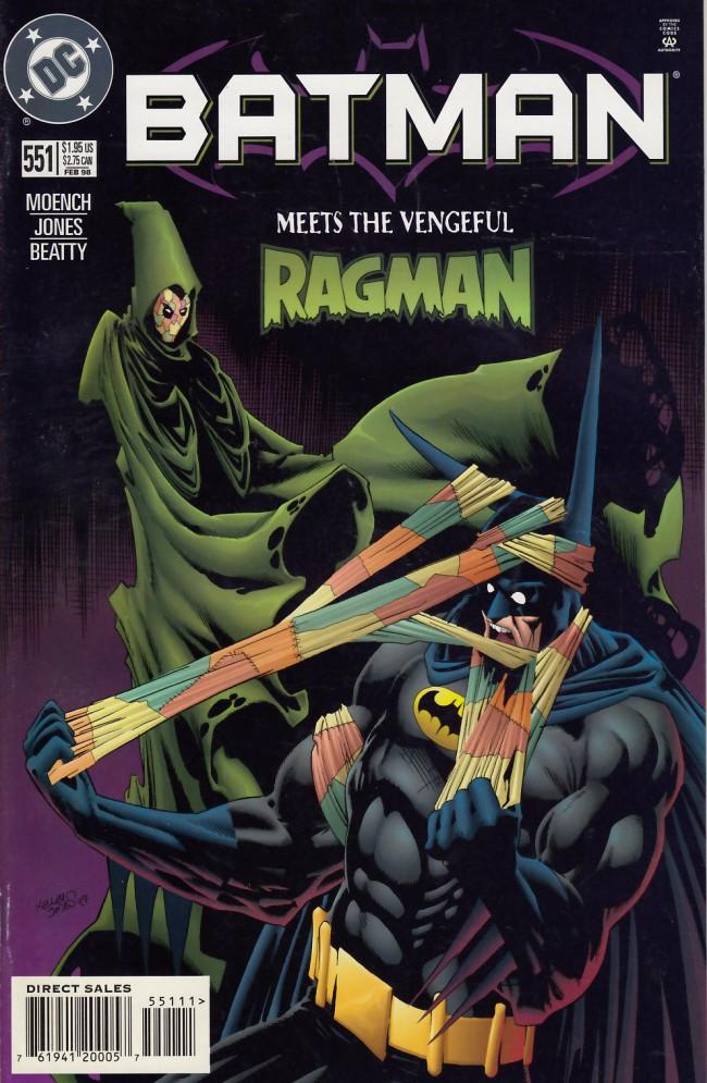 Couverture de Batman Vol.1 (DC Comics - 1940) -551- Suit of evil souls
